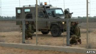 На границе сектора Газа