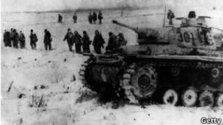 Германские войска под Сталинградом