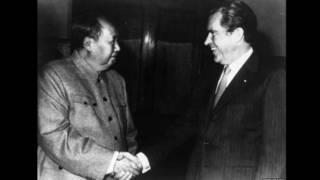 Tổng thống Richard Nixon và Chủ tịch Trung Quốc Mao Trạch Đông
