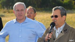Биньямин Нетаньяху и Эхуд Барак