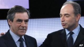 Франсуа Фийон и Жан-Франсуа Копе