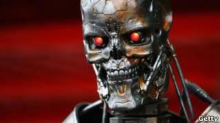 """Робот из фильма """"Терминатор"""""""