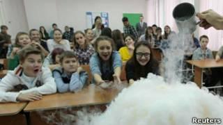 Школьники Красноярска