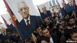 Демонстрация палестинцев