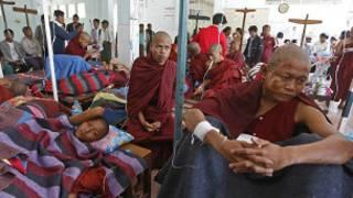 Letpadaung Monks