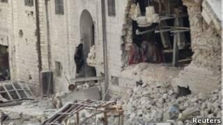 В Дамаске продолжаются ожесточенные бои между повстанцами и правительственными войсками