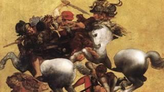 копия фрески Леонардо