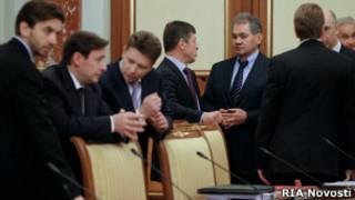 Накануне заседания кабинета министров