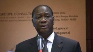 Shugaba Alassane Ouattara na Ivory Coast