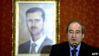 نائب وزير الخارجية السوري، فيصل مقداد