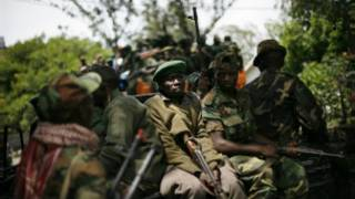 'Yan tawayen M23 na Congo