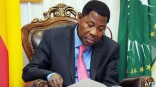 Le président béninois Yayi Boni, président en exercice de l'Union africaine