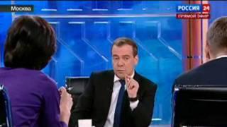 Интервью Медведева