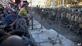 В ходе протестов в Египте