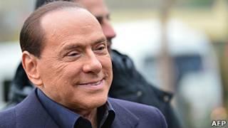 Silvio Berlusconi, exprimer ministro de Italia