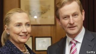 Serge Lavrov y Hillary Clinton