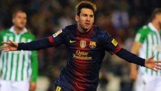 Messi ya sake kafa tarihi a duniya