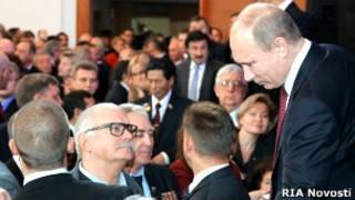 Путин и его доверенные лица