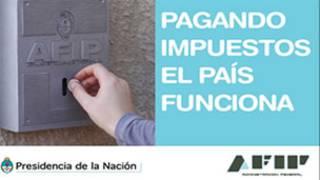 Campaña de la AFIP (Administración Federal de Ingresos Públicos de Argentina)