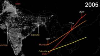 Рост городов мира