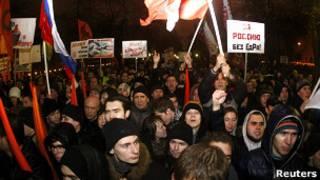 Оппозиционный митинг в декабре 20111 года в Москве