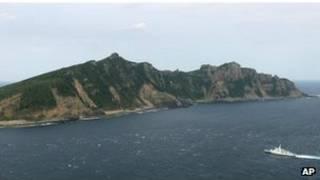 Спорные острова в Восточно-Китайском море