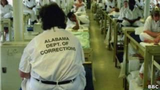 Женская тюрьма в штате Алабама