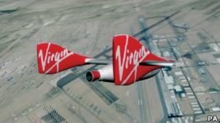 Космический аппарат компании Virgin