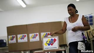 Избиратель в Венесуэле