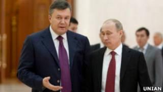 Янукович, Путін