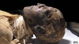 Мумия Рамзеса III