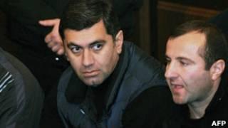 Ираклий Окруашвили на скамье подсудимых