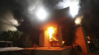 کنسولگری آمریکا در بنغازی