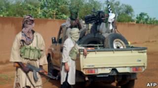 Боевики-исламисты в Мали