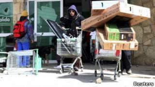 Нападение на магазин в Аргентине