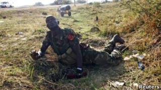Солдат армии Южного Судана