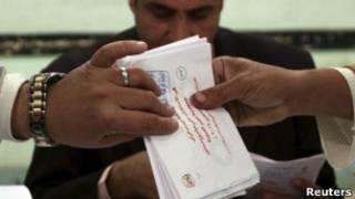 Подсчет голосов в Египте