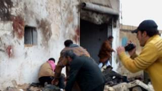 Gidan gasa biredi a Syria