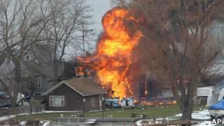 Пожар в Вебстере