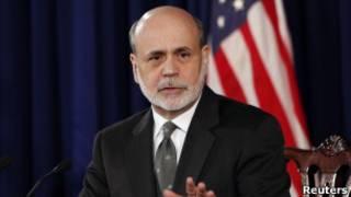 Ben Bernanke, director de la Reserva Federal de EE.UU.