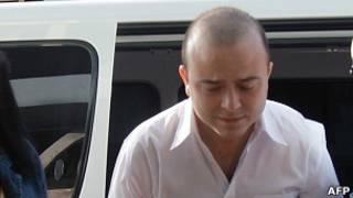 Angel Carromero, dirigente de Nuevas Generaciones del Partido Popular (PP)