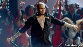 Le chanteur de R&B Chris Brown
