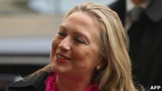 Hillary Clinton, secretaria de Estado de EE.UU.