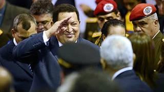 Shugaba Hugo Chavez naVenezuela