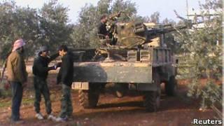 Повстанцы в Тафтаназе