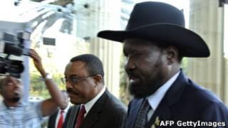Shugaba Silva Kiir na Sudan ta Kudu