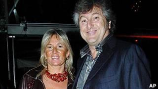 Vittorio MIssoni y su esposa Maurizia Castiglioni
