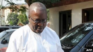 Shugaban kasar Ghana John Mahama