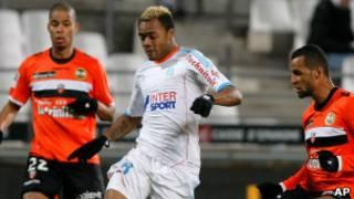 Andre Ayew yatsindiye Marseille ibitego 10 muri shampiyona y'uyu mwaka.