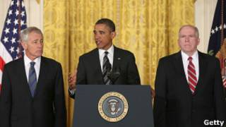राष्ट्रपति ओबामा घोषणा करते हुए